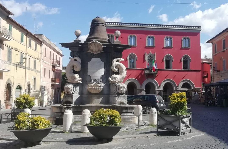 Piazza Cesare Leonelli a Campagnano di Roma