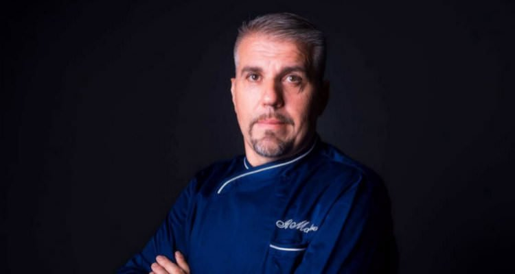 Lo chef Giuseppe Cappelli