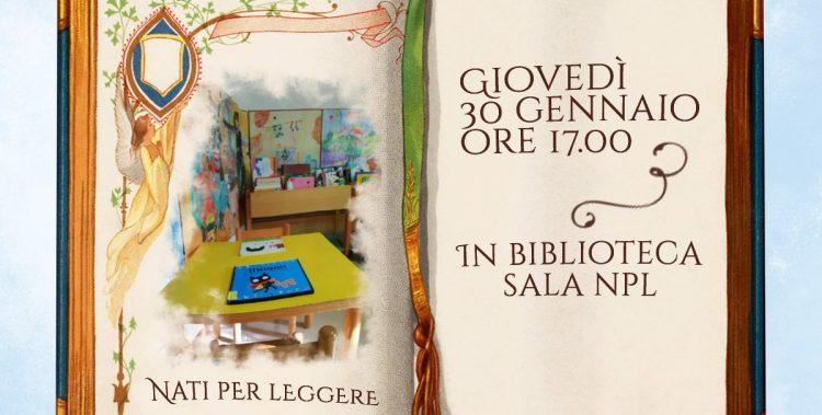 Incontro Nati per Leggere presso la Biblioteca Comunale di Campagnano per tutti i bambini