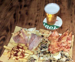 Aperipizza alla pizzeria la Fabbrica della Pizza di Stefano Ciogli a Campagnano di Roma
