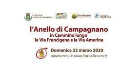 Domenica 22 marzo 2020 – Camminata lungo l'anello della Via Francigena