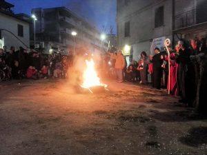 Corteo di Re Carnevale a Campagnano
