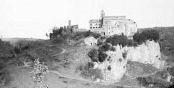 Antica fotografia del Santuario del Sorbo