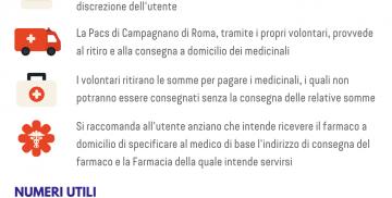 Servizio di consegna farmaci a domicilio a Campagnano di Roma