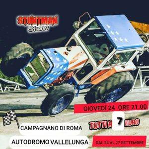 Stuntman Show all'autodromo di Vallelunga
