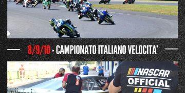Autodromo di Vallelunga - Calendario gare auto e moto ottobre 2021