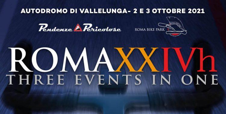 Roma XXIVh Bike - endurance in bici presso Autodromo di Vallelunga